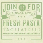 Fresh Pasta Tagliatelle